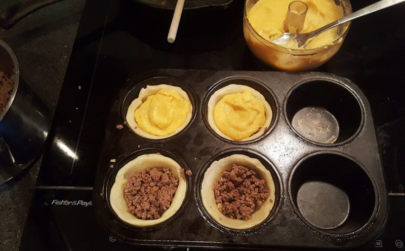 At The Failsafe Table: Assembling Mini Pies