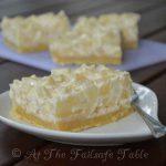 Failsafe Table - Pear & Sour Cream Slice