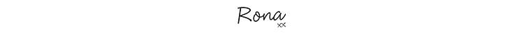 Rona Signature