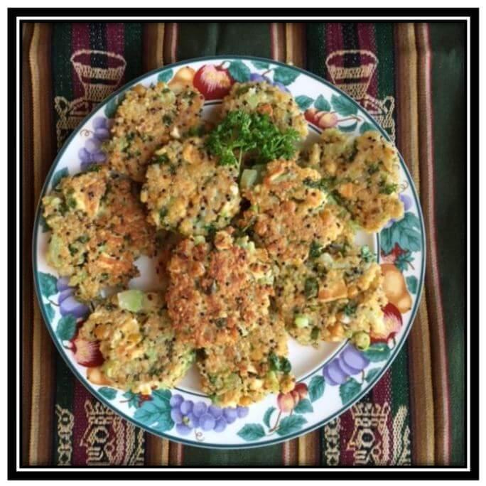 Quinoa & Choko Patties