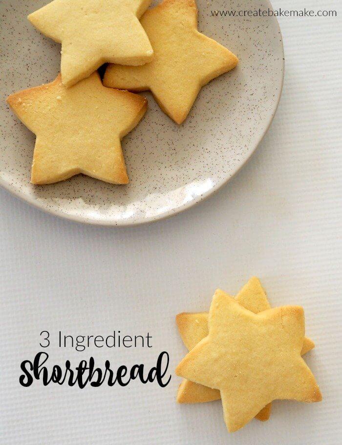 3-Ingredient-Shortbread