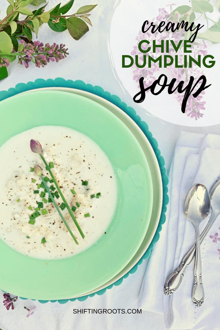 Creamy-Chive-Dumpling-Soup