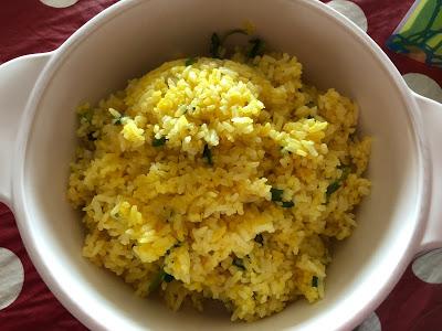 Saffron Fried Rice