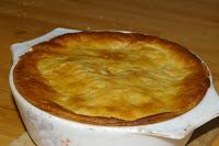 Chicken Leek and Potato Pie 1